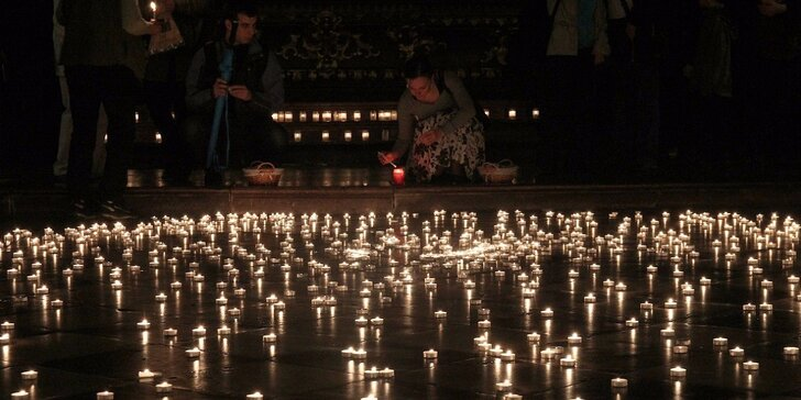 Noční koncerty při svíčkách v kostele u Karlova mostu
