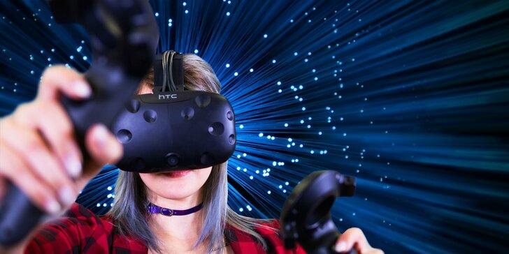 Popusťte uzdu své fantazii ve virtuální realitě až pro 5 osob