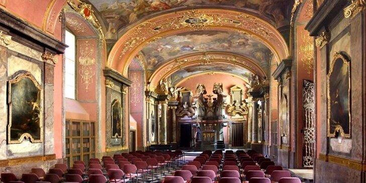 Jedinečná červencová nabídka: Smetana, Dvořák a Vivaldi v Zrcadlové kapli Klementina