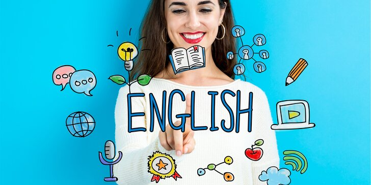 Kurz anglického jazyka s učiteli z Kanady + láhev výběrového vína