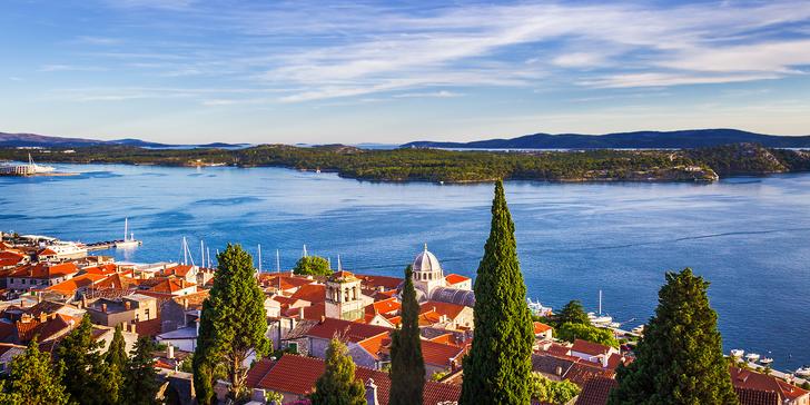 Týden v chorvatském letovisku Žaborič v apartmánovém domě jen 40 m od moře