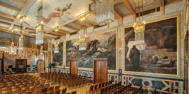 Nejznámější melodie Mozarta a Vivaldiho v Grégrově sálu Obecního domu