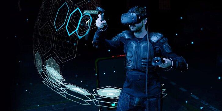 Nasaďte brýle a hurá za dobrodružstvím: 60 min. virtuální reality pro 2 či 4 pařiče