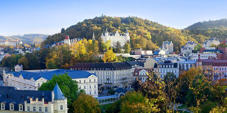 2-4denní dovolená v Karlových Varech: ubytování v apartmánu v lázeňské čtvrti