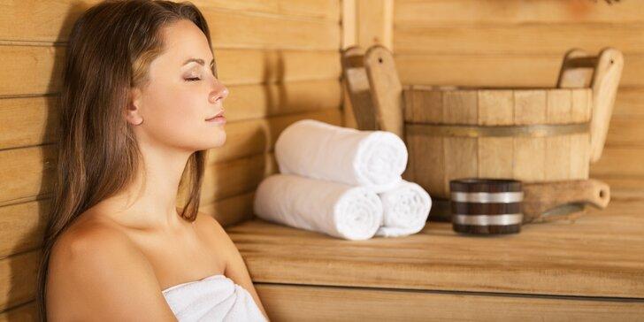 90minutové saunování pro dva - Finská a infrasauna dle výběru
