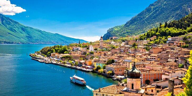 Léto či podzim u Lago di Garda: 100 m od pláží, s polopenzí, bazénem a wellness