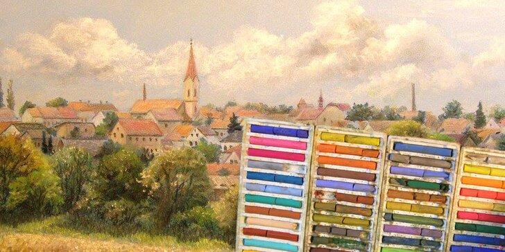 Krajiny vnitřní i vnější: 16hod. intenzivní víkendový kurz krajinomalby pastelem