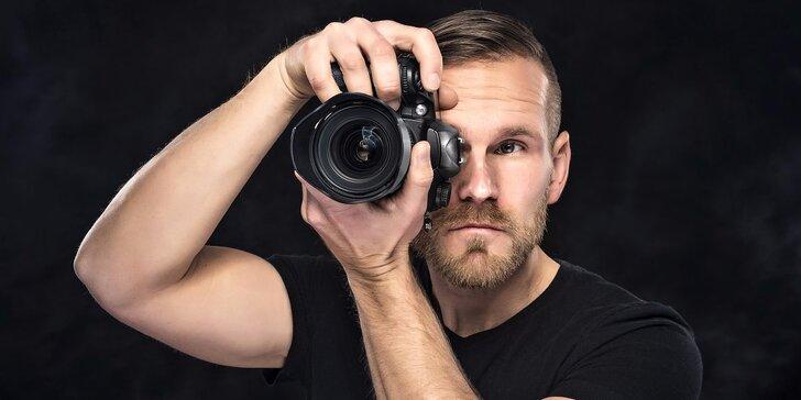 4–5hodinový kurz základů focení s digitálním fotoaparátem