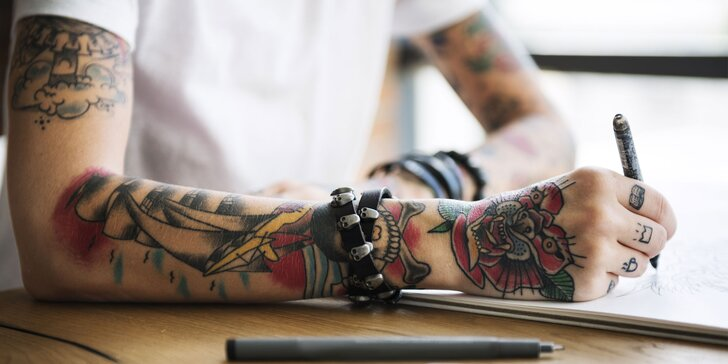 Láska na celý život: Parádní kérka od profesinálů ze studia Tata Tattoo