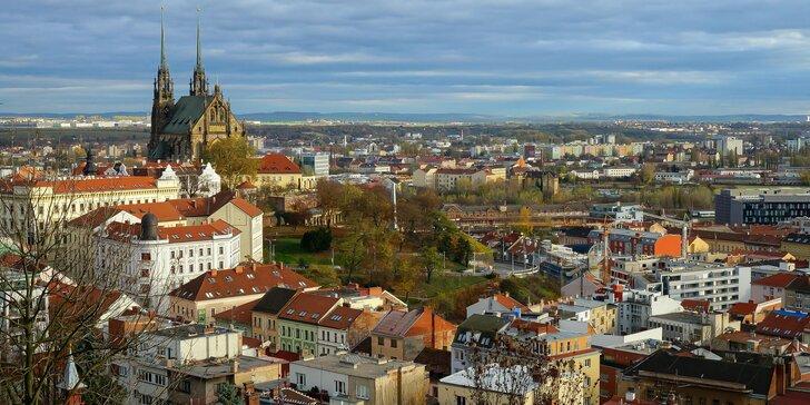 Zač je toho Brno: Komentovaná 2hod. projížďka minibusem po moravské metropoli