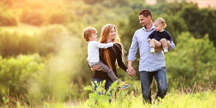 3 letní dny pro dva či celou rodinu v apartmánu pod vrcholky Krušných hor
