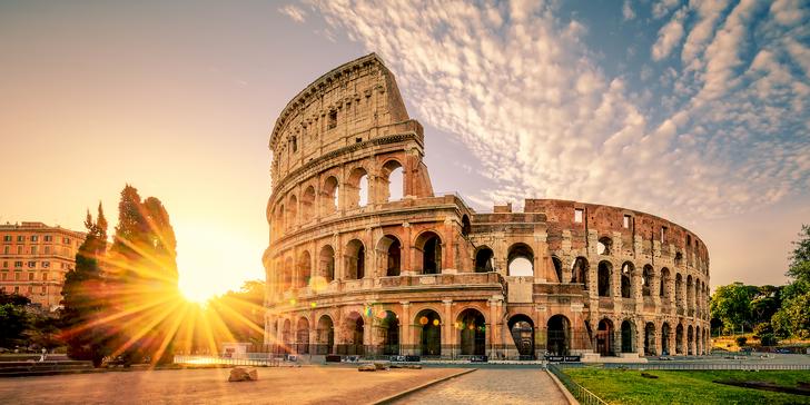 4denní letecký zájezd za nejkrásnějšími památkami Říma a Vatikánu vč. průvodce