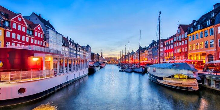 Vzhůru na sever: 3–4 dny ve stylovém hotelu v Kodani včetně snídaně pro dva
