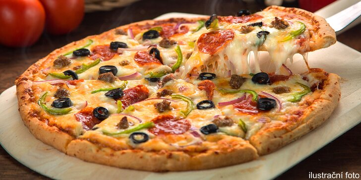 Tady eidam nenajdete: Poctivá pizza ozdobená čerstvými italskými surovinami