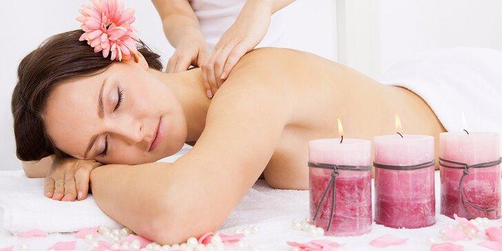 Tohle tělo ocení: Božské relaxační masáže zad i reflexní masáže nohou