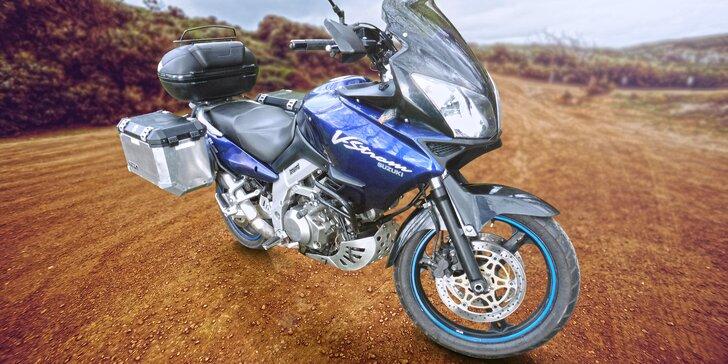 Jízda na pořádném žihadle: Půjčení cestovního endura Suzuki DL1000 V-Strom