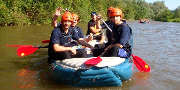 Za adrenalinem do Liptovského Mikuláše: vzrušující rafting na řece Váh