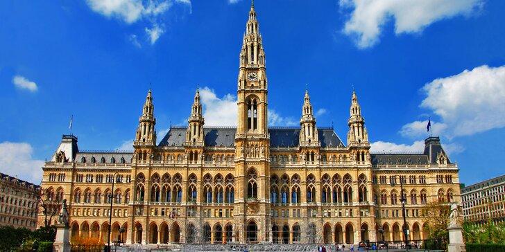 Vyrazte si spolu do Vídně: 3 nebo 4 dny ve vybraném hotelu včetně snídaní