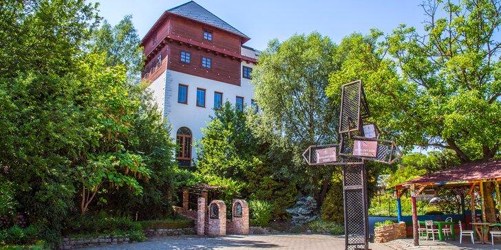 Rodinný apartmán nedaleko Lednice: polopenze, víno, stylové wellness i sport
