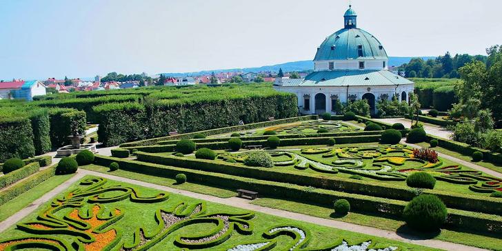 Letní pobyt s poznáním krás Olomoucka a Kroměřížska s polopenzí v hotelu FIT***