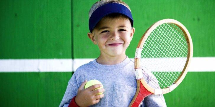 5 dní s raketou na kurtu: Příměstský tenisový tábor pro děti