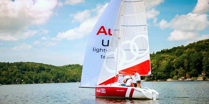 Pro dobrodruhy i snílky: Divoká nebo klidná plavba na lodi Audi až pro 4 osoby