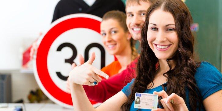 Osvojte si umění řídit: Rezervace kurzu autoškoly pro získání průkazu sk. B