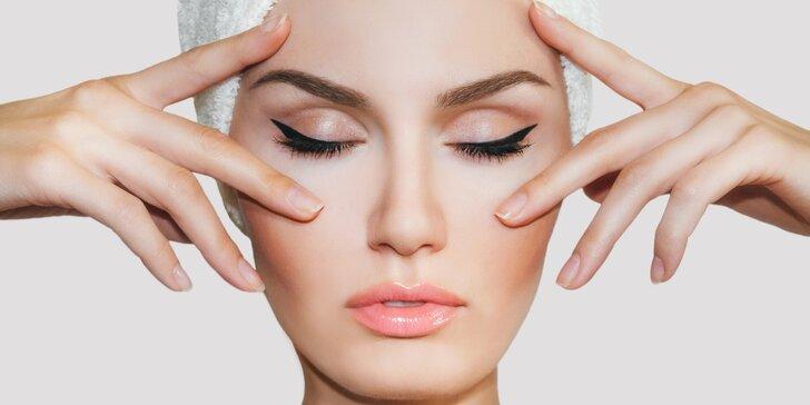 Radiofrekvenční lifting obličeje medicínským přístrojem Rf Perfect Slim