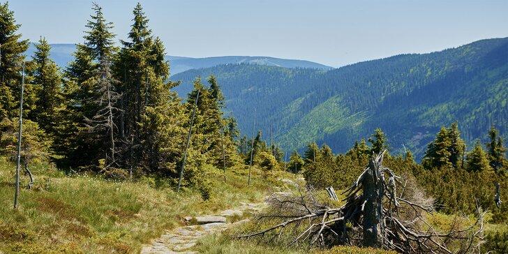 Vyrazte si do Krkonoš: pobyt v chatě uprostřed krásné přírody pro 2 nebo rodinu