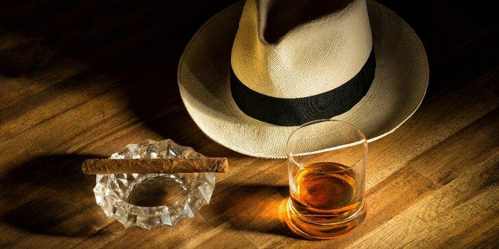 Velké rumové tajemství: degustace rumů a doutníku spojená s kurzem