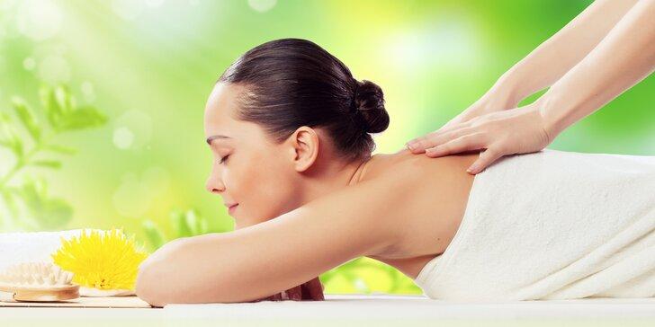 Uvolňující relaxační masáž zad a šíje: dopolední i odpolední varianta