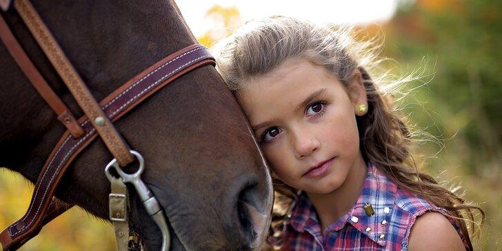 7 dní u koní: Letní jezdecké soustředění na ranči Kopaniny