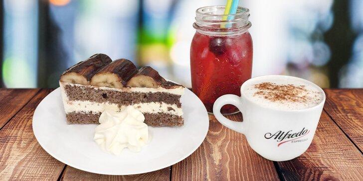 Oslaďte si život ve Fulneku: Káva se zákuskem dle výběru a domácí limonáda