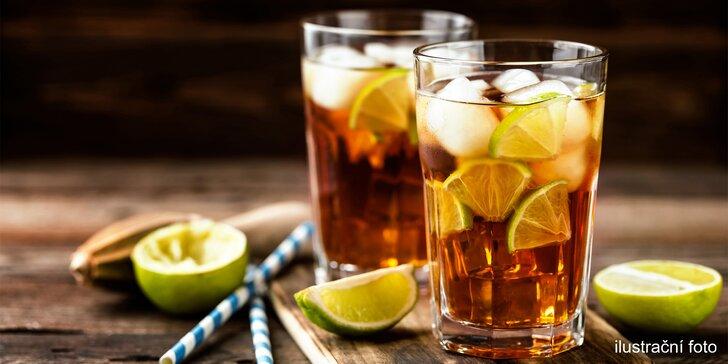 Přivítejte léto drinkem: 2× Cuba Libre nebo Gin&Tonic na Vinohradech