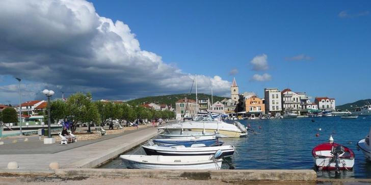 3 noci v září u moře v Chorvatsku - koupání, turistika, cykloturistika a rybolov