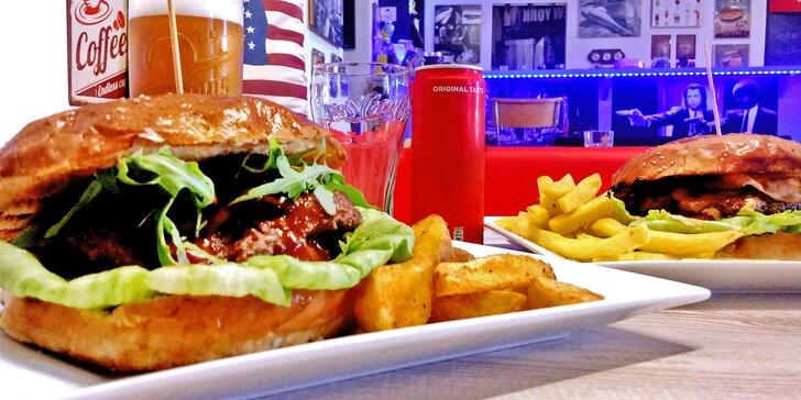 Back to 60': burgery v domácích bulkách s poctivým masem a přílohou pro 2