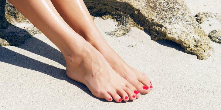 Mokrá pedikúra pro krásné nohy