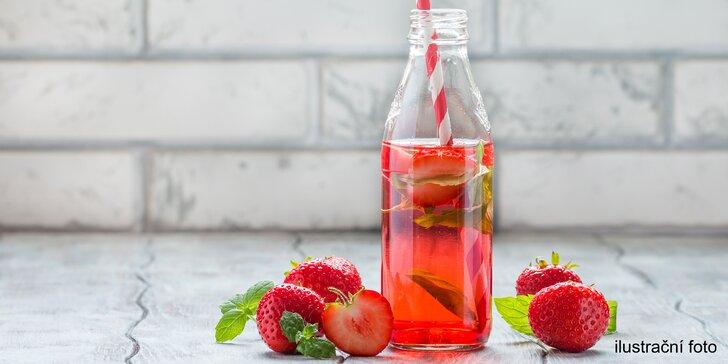 Dodržujte pitný režim: Osvěžující domácí limonáda dle výběru pro jednoho či dva