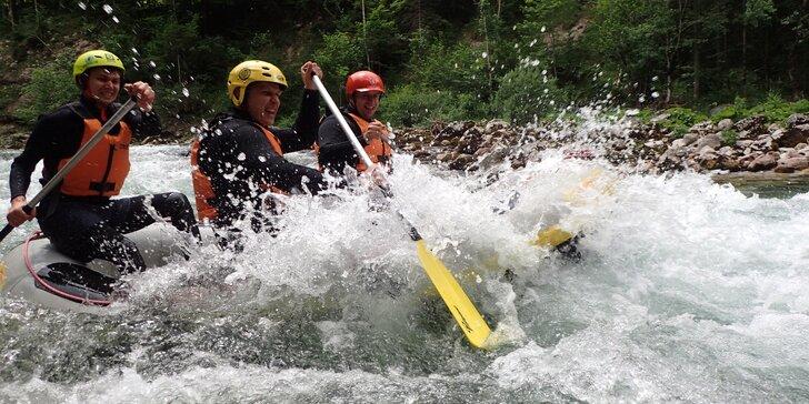 Ochlaďte se v parných dnech: půldenní rafting na krásné rakouské řece Salza