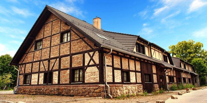 Relaxační wellness pobyt na Knížecím statku v areálu polského zámku Kliczków