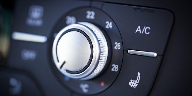 Ať vás horko nedostane: Kontrola, čištění a doplnění klimatizace ve vašem voze