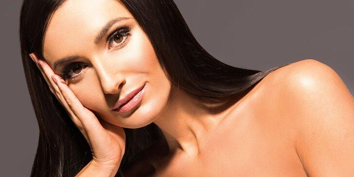 Vyčištění pleti pomocí ultrazvuku s kosmetikou Alcina