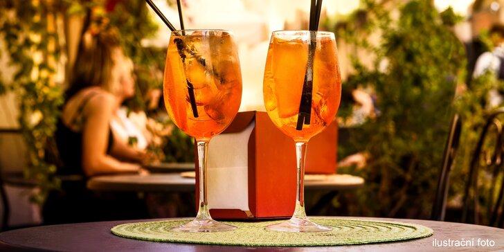 Na zdraví a skvělé léto: 2 drinky Aperol Spritz v centru Olomouce