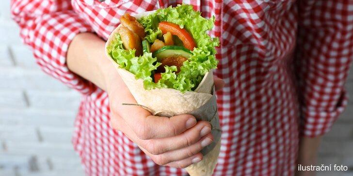 """Kebab s kuřecím gyrosem na """"Pavláku"""": Na oběd i cestou z pařby přijde vhod"""