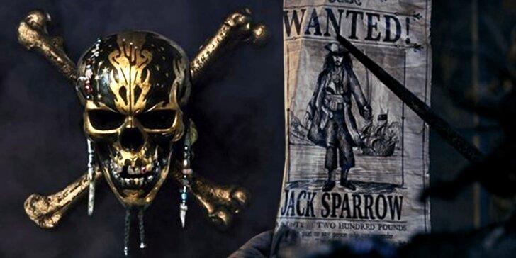 Další dobrodružství kapitána Jacka – 2 lístky na Piráty z Karibiku: Salazarova pomsta