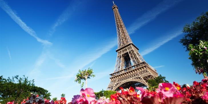 Zažijte na vlastní kůži město zamilovaných: Paříž na 1 noc se snídaní