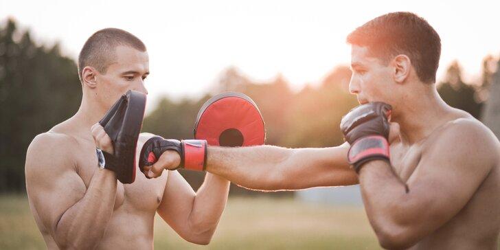 Měsíční kurz MMA a jiu-jitsu s brazilským trenérem pro muže i ženy