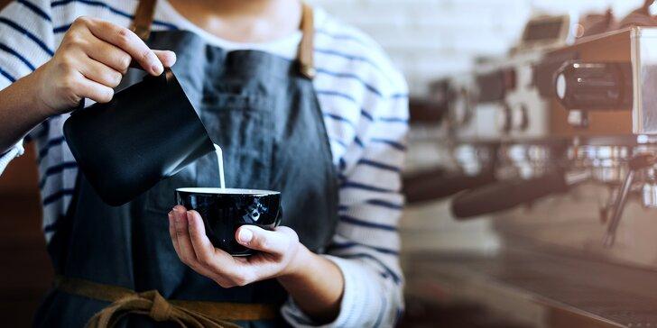 Baristický kurz domácí přípravy espressa pro milovníky kávy