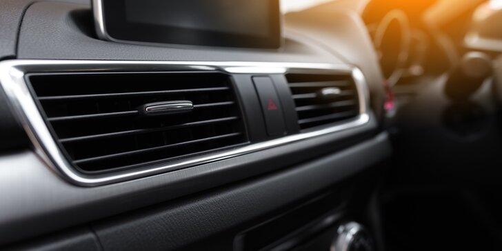 Ultrazvuková dezinfekce nebo kompletní servis klimatizace vašeho vozu