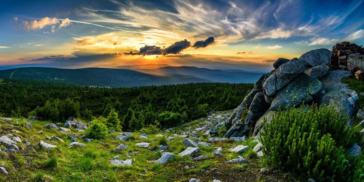 Pohodový pobyt v Krkonoších: Aktivity, turistika a ubytování s polopenzí